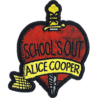 Alice Cooper- School's Out embroidered patch (ep987)
