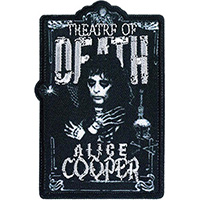 Alice Cooper- Theatre Of Death embroidered patch (ep988)