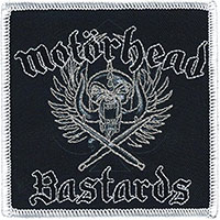 Motorhead- Bastards embroidered patch (ep1038)