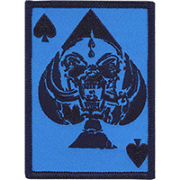 Motorhead- Blue Warpig Spade embroidered patch (ep989)