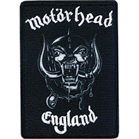 Motorhead- England embroidered patch (ep990)
