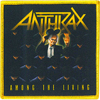 Anthrax- Among The Living embroidered patch (ep996)