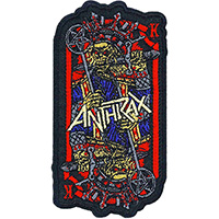 Anthrax- Evil King embroidered patch (ep998)