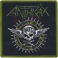 Anthrax- Fight 'Em 'Til You Can't embroidered patch (ep1005)