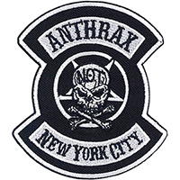 Anthrax- NYC embroidered patch (ep1006)