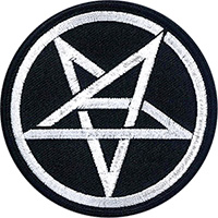 Anthrax- Pentagram Symbol embroidered patch (ep1007)