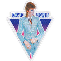 David Bowie- Blue Suit embroidered patch (ep1009)