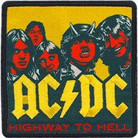 AC/DC- Highway To Hell (Red Faces) Embroidered patch (ep1039)