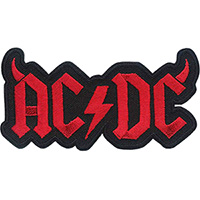 AC/DC- Horns Logo Embroidered patch (ep1017)