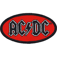 AC/DC- Oval Logo Embroidered patch (ep1019)