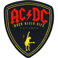 AC/DC- Rock Never Dies Embroidered patch (ep1020)
