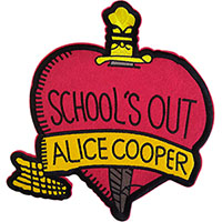Alice Cooper- School's Out embroidered back patch