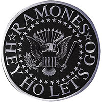Ramones- Hey Ho Let's Go Seal embroidered back patch