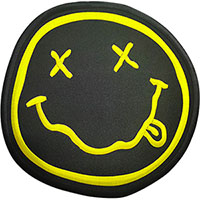 Nirvana- Face embroidered back patch