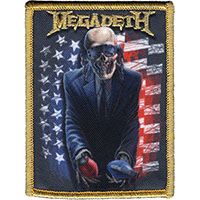 Megadeth- American Grenades embroidered patch (ep595)