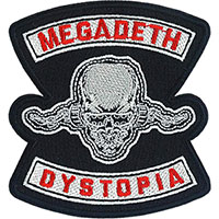 Megadeth- Dystopia embroidered patch (ep1043)