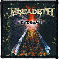 Megadeth- Endgame embroidered patch (ep1044)