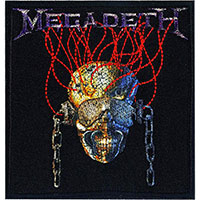 Megadeth- Wires embroidered patch (ep1045)