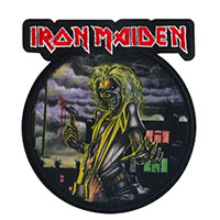 Iron Maiden- Killers Embroidered Patch (ep962)