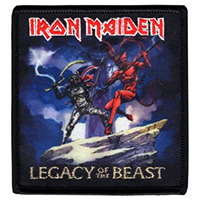 Iron Maiden- Legacy Of The Beast Embroidered Patch (ep52)