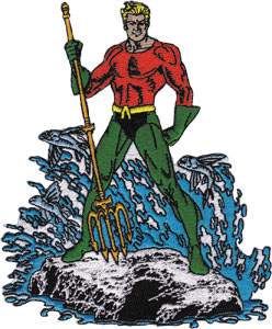 DC Comics- Aquaman embroidered patch (ep695)