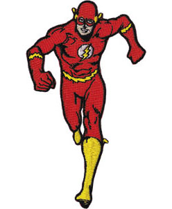 DC Comics- Flash embroidered patch (ep697)