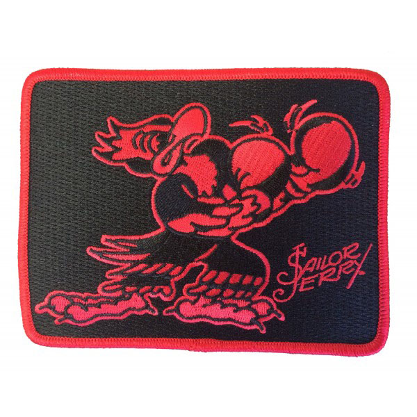Put 'Em Up Embroidered Patch from Sailor Jerry (EP851)
