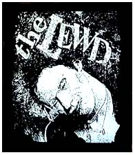 Lewd- Face back patch (bp233) (Sale price!)