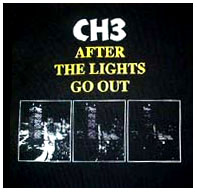 CH3- After The Lights Go Out back patch (bp54) (Sale price!)