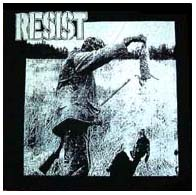 Resist- Hunter back patch (bp207) (Sale price!)