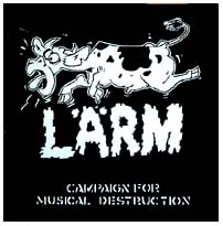 LARM- Campaign For Musical Destruction back patch (bp155) (Sale price!)