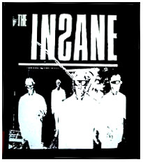 Insane- Band Pic back patch (bp151) (Sale price!)