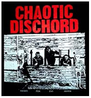 Chaotic Dischord- Band Pic back patch (bp57) (Sale price!)