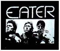 Eater- Band Pic back patch (bp118) (Sale price!)
