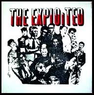Exploited- Punks back patch (bp121) (Sale price!)