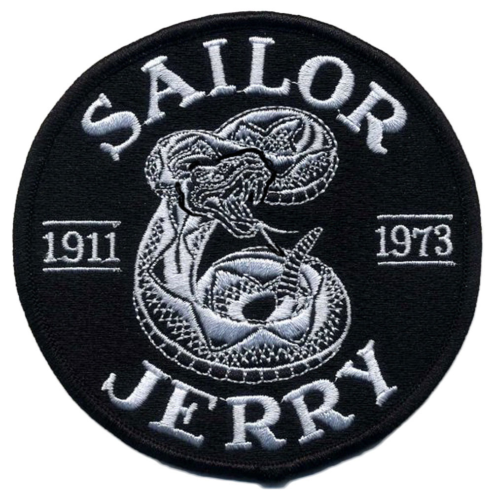 Rattler Embroidered Patch from Sailor Jerry (EP852)