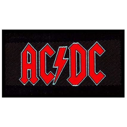 AC/DC- Logo Woven patch (ep769) (Import)