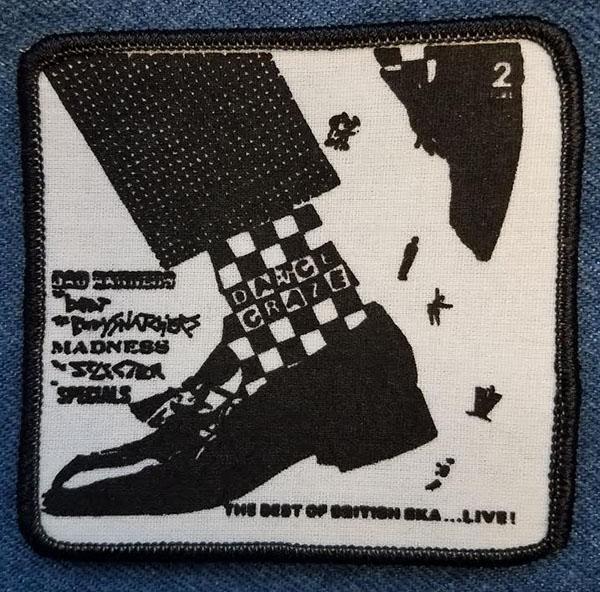 Dance Craze screened sewn edge patch (sp1116)