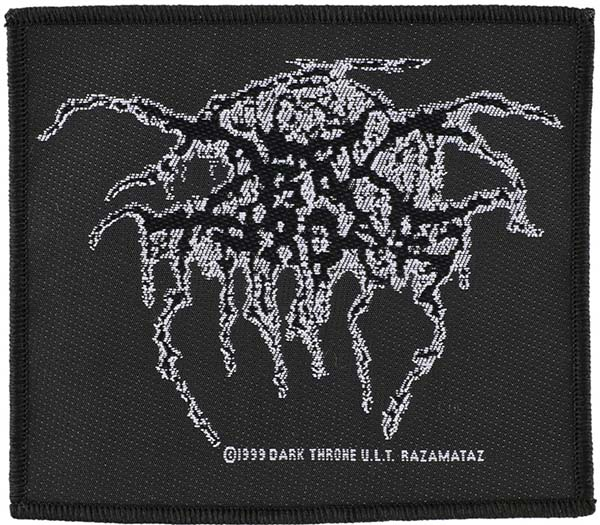 Darkthrone- Logo Woven Patch (ep611) (Import)