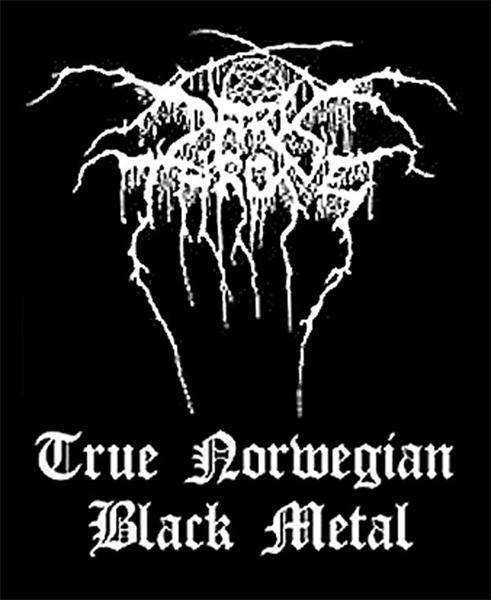 Darkthrone- True Norwegian Black Metal Woven Patch (ep767)