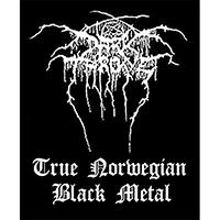Darkthrone- True Norwegian Black Metal Woven Patch (ep767) (Import)