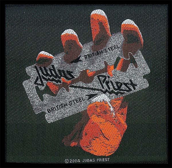 Judas Priest- British Steel Woven Patch (ep786) (Import)