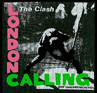 Clash- London Calling Woven patch (ep279)