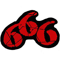 666 Woven Patch (ep189) (Import)