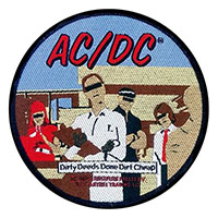 AC/DC- Dirty Deeds Done Dirt Cheap Woven patch (ep1052)