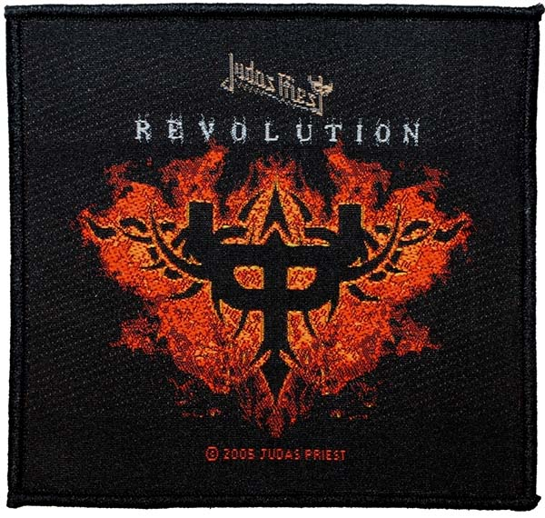 Judas Priest- Revolution Woven Patch (ep520)