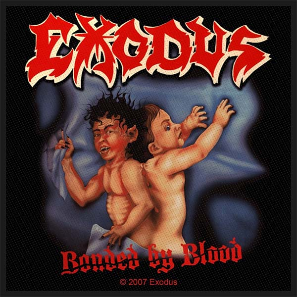 Exodus- Bonded By Blood Woven patch (ep486) (Import)