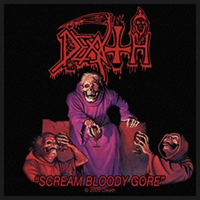 Death- Scream Bloody Gore Woven Patch (ep884)