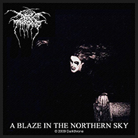 Darkthrone- A Blaze In The Northern Sky Woven Patch (ep774)