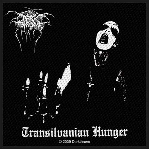 Darkthrone- Transilvanian Hunger Woven Patch (ep578)